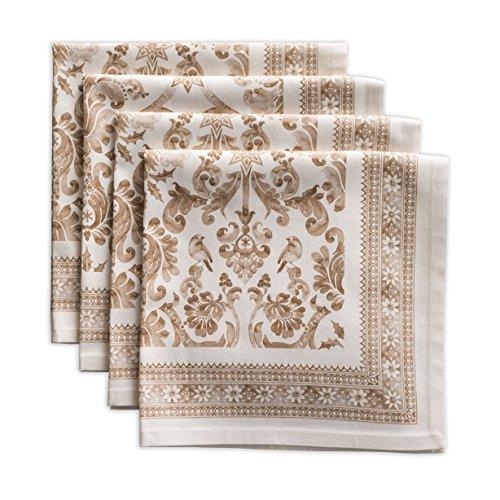 Maison d' Hermine Allure 100% Cotton Set of 4 Napkins 20 Inch by 20 Inch. by Maison d' Hermine