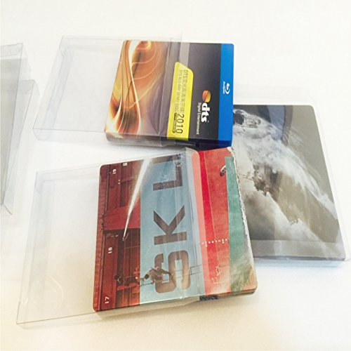 P F Blu Ray Steelbook Jewel Plastic Sleeves Cases Hd Dvd And Bluray Protective Slipcovers Pack