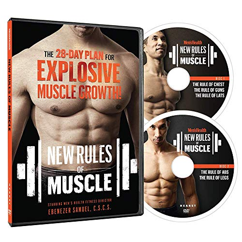 Men's Health New Rules of Muscle: The 28-Day Plan for Explosive Muscle Growth - 2 DVDs (Workout Plan For Skinny Guys At Home)