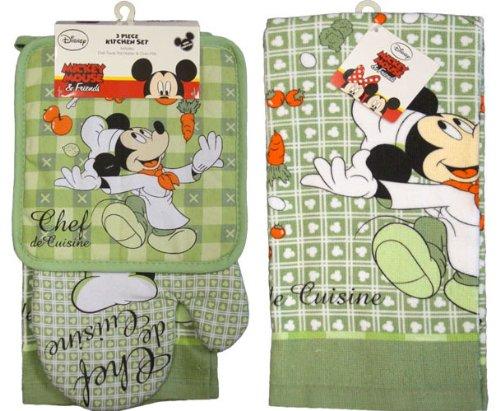 Disney Mickey Mouse   Chef De Cuisine   4 Piece Kitchen Set