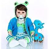 Boneco Bebê Reborn Menino Girafinha - 100% Silicone