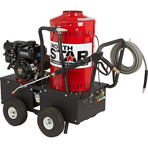 NorthStar Gas Wet Steam & Hot Water Pressure Washer - 2700 PSI, 2.5 GPM, Briggs & Stratton Engine