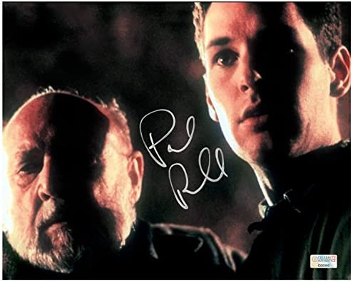 Paul Rudd Autographed Halloween The Curse Of Halloween The Curse Of Michael Myers Tommy Doyle And Dr Loomis 8 10 Photo At Amazon S Entertainment Collectibles Store