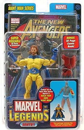 "Marvel Legends ""Sentry "" Bearded Variant Age of Apocolypse Walmart Exclusive ..."