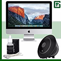 Apple 21.5 iMac (Late 2015) + JBL Voyager Portable Wireless Bluetooth Speaker (Black) Greens Camera Bundle 12