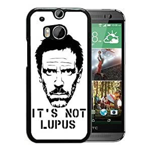 Fashion HTC ONE M8 Case,House - Lupus Black HTC ONE M8 Screen Phone Case Graceful and Beautiful Design