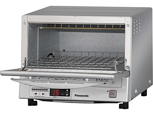 Panasonic NB-G110P Flash Xpress Toaster Oven, Silver by Panasonic