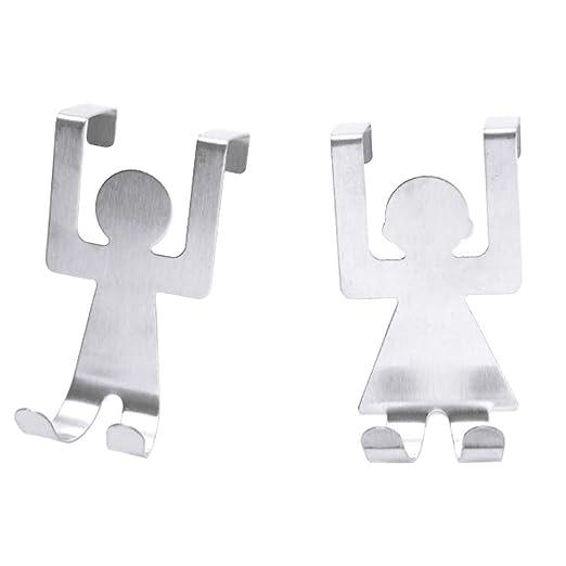 Ganchos de Puerta Gancho Dibujos Animados humanoide Hooks ...
