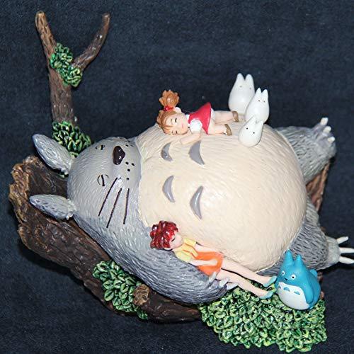 Happ trix Totoro Figure 100% Original Japanese Anime Figure Hayao Miyazaki Totoro PVC Action Figure Toy Collection Kids Toys for Birthday -