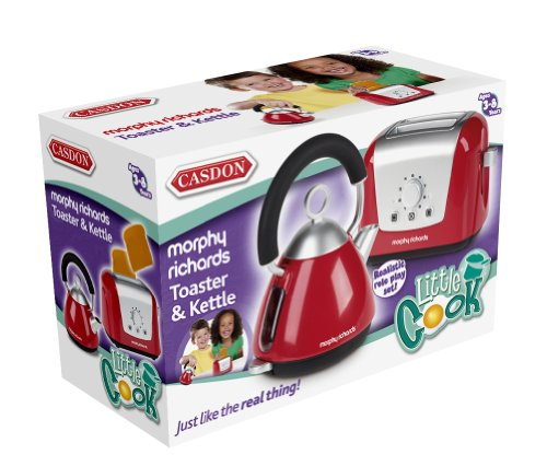 Morphy Richards Usa: Casdon Little Cook Morphy Richards Toaster And Kettle Set