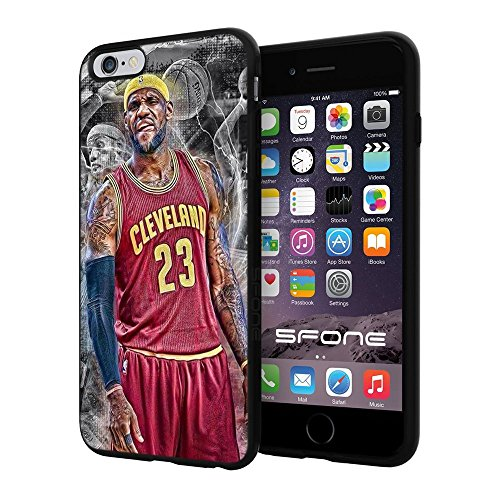 """Lebron James Basketball #2290 iPhone 6 Plus (5.5"""") I6+ Case Protection Scratch Proof Soft Case Cover Protector"""