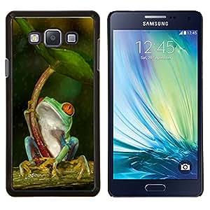 Stuss Case / Funda Carcasa protectora - Paraguas Verde Bosque Tropical - Samsung Galaxy A7 ( A7000 )