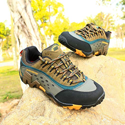 Waterproof Running Slip Hiker Outdoor Women's Anti Backpacking Casual Climbing Shoe Hiking Khaki Shoes Trail wI1qdg