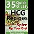 25 Quick & Easy HCG Recipes