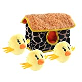 IFOYO Squeak Dog Toys, Large Durable Hedgehog Hide and Seek Puzzle...