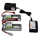 Best Lipo Pack With Battery Chargers - Blomiky 2 Pack 11.1V 3S 2200mAh 30C Lipo Review