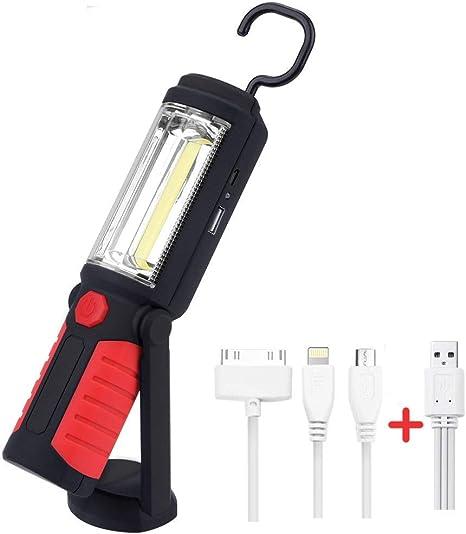 DEL Lampe Atelier USB avec Batterie Magnétique /& Trépied-Lampe//de voiture stableuchte