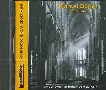 Marcel Dupre Improvisiert