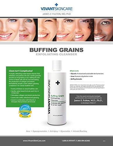 Vivant Skin Care Buffing Grains, 8 Ounce