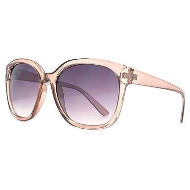e2a33ae3c81f M:UK Highbury Glamorous Rectangle Sunglasses in Crystal Mink MUK147859 One  Size Gradient Grey Crystal Mink: Amazon.co.uk: Clothing