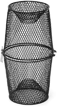 schwarz 12/x 12/x 12,7/cm flach Frabill Hummer Falle