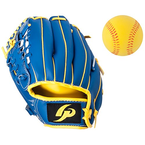 GP Youth Left-handed Baseball Glove 9 inch with a Soft Ball by GP