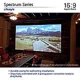 "Elite Screens Spectrum 100"" Electric Motorized"