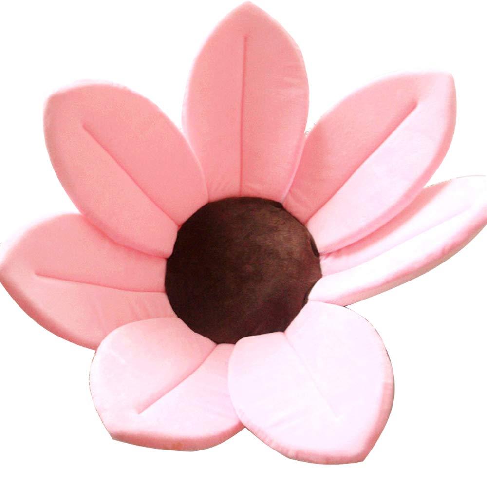 CULASIGN Baby Badewannen, Gefaltet Schnelles Trocknen Blooming Blume Bath Seat Fü r Die Unisex Kleinkinder-Durchmesser 80cm