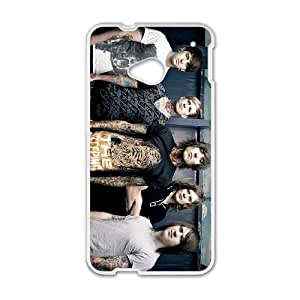 HTC One M7 Cell Phone Case Covers White Bring Me the Horizon