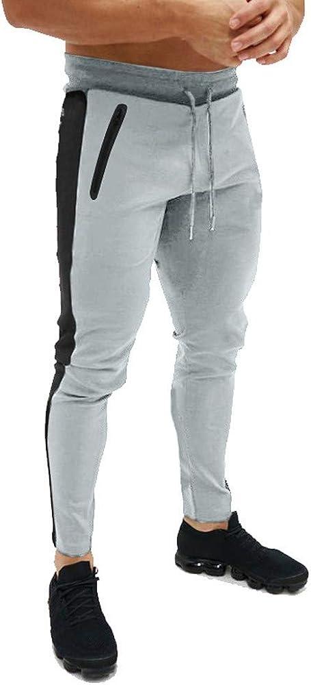 Impresos Pantalones Hombre Casuales Deporte Joggers Pantalones ...