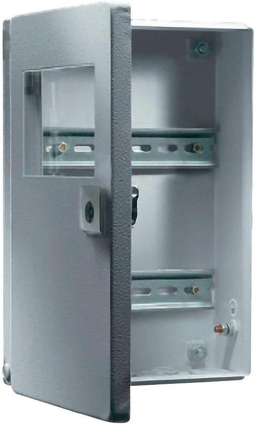 Rittal BG 1577.450 Acero IP65 caja eléctrica - Caja para cuadro eléctrico (400 mm, 155 mm, 300 mm): Amazon.es: Bricolaje y herramientas