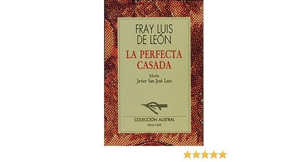La perfecta casada (Spanish Edition): Luis De Leon ...