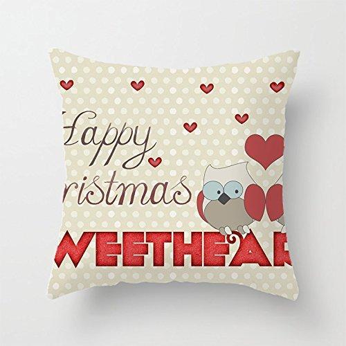 yinggouen corazón rojo con lunares decorar para un sofá ...