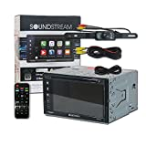 Cheap Soundstream VRCP-65 Double DIN 2-DIN 6.2″ Apple CarPlay DVD MP3 CD Receiver Bluetooth SiriusXM-Ready + Remote and DCO Back-up Camera Night Vision Wide Angle View (Optional Camera)
