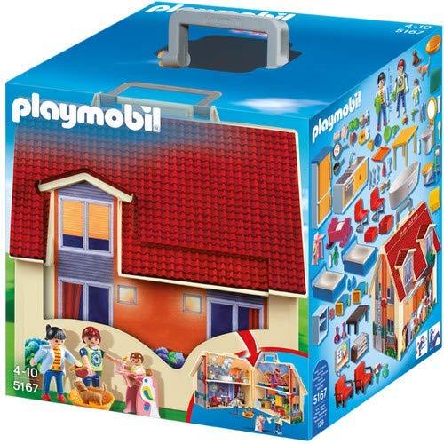 PLAYMOBIL Take Along Modern Doll House (Renewed)