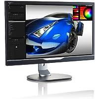 Philips 288P6LJEB 28-Inch IPS Monitor (4K) 3840 x2160,1ms,300cd/m2,VGA,DVI,DP,HDMI,(4) USB,HA,Pivot,SPK,PIP/PBP
