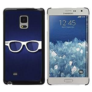LECELL -- Funda protectora / Cubierta / Piel For Samsung Galaxy Mega 5.8 9150 9152 -- Glasses --