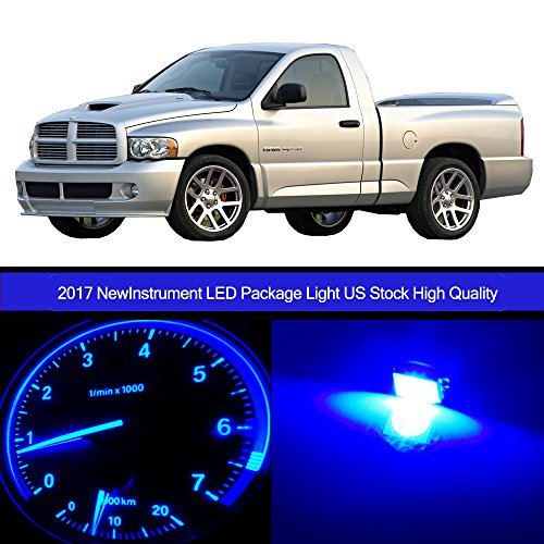 cciyu 30pack Blue Speedometer Instrument Gauge Cluster Light W/Twist Socket +HVAC Climate Control light Kits Replacement fit for 2002-2006 Dodge Ram 1500 (Ram Dodge Speedometer)