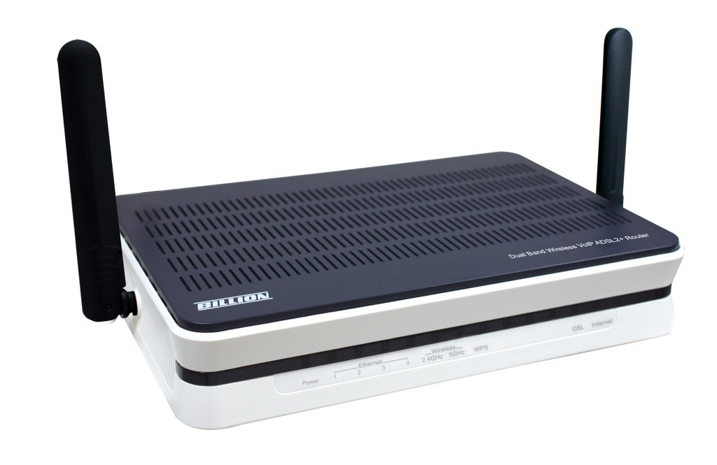 Billion 8800NL R2 Wireless VDSL//ADSL2 Modem Router for Phone Line Connections and Fibre