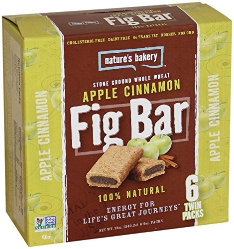 Nature's Bakery Whole Wheat Fig Bars - Apple Cinnamon - 6 ct