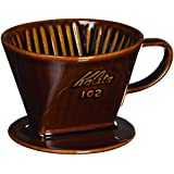 Kalita Ceramic Coffee Dripper (Brown) for 2-4 Cups