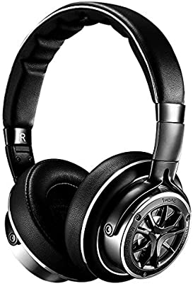 520dcfd2dc3 1MORE Triple Driver Over-Ear Headphones Comfortable Foldable Earphones with  Hi-Res Hi-Fi Sound, Bass Driven, Tangle-Free Detachable Cable for ...