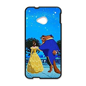 DAZHAHUI Fresh Princess and Wolf Cell Phone Case for HTC One M7