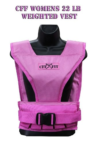 - CFF Women's Pink Weight Vest - 22 Pound