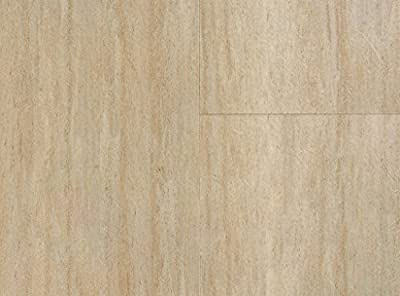 "COREtec Plus Ankara Travertine 8mm x 12"" Engineered Vinyl Tile 50LVT104 SAMPLE by USFloors"