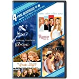 4 Film Favorites: Kevin Costner (The Bodyguard: Special Edition, Rumor Has It, Tin Cup, Upside of Anger) by Warner Home Video