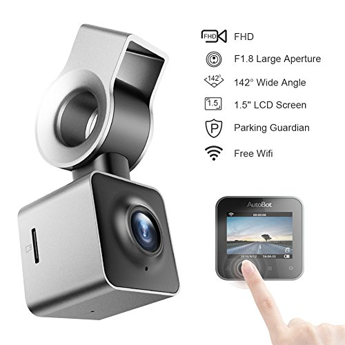 Mini Dash Cam Full HD 1080P 1.5 Inch LCD Small Car Dashboard Camera DVR Video Recorder with Parking Monitor, G-Sensor, Super Night Vision and 142° Viewing Angle and WIFI Function(Silver ) Review