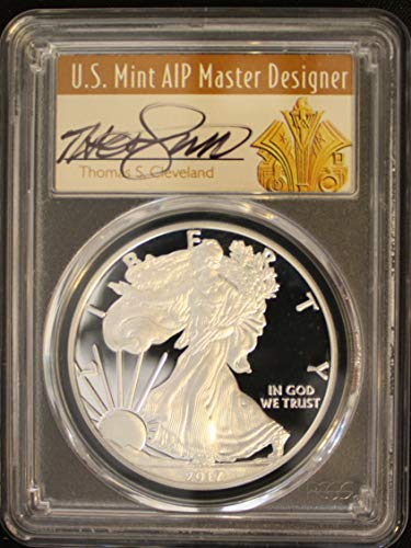 American Eagle Pcgs Coin Set - 2017 S American Silver Eagle Silver Proof Coin Coveted Congratulations Set First Strike Art Deco Scarce Cleveland Signed $1 PR-70 PCGS FS