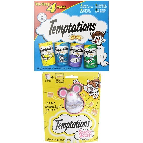Temptaions Variety Pack/Snacky Mouse ()