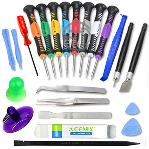 ACENIX 24 iN 1 Repair Opening Pry Tools Screwdriver Kit Set